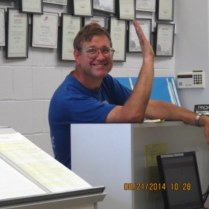 I think George was happy because of all the issues that came up with getting the engine instruments working!