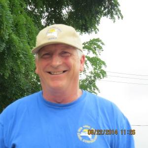 Dana the bridge lift operator in Middleport