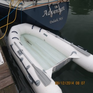 Our Dinghy Needs a NAME