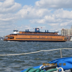 We had to take a picture of the Staten Island Ferry